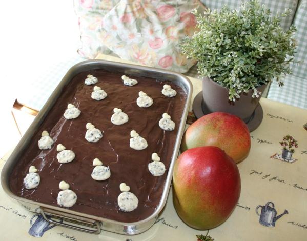 walnut pie chocolate topping lenafusion